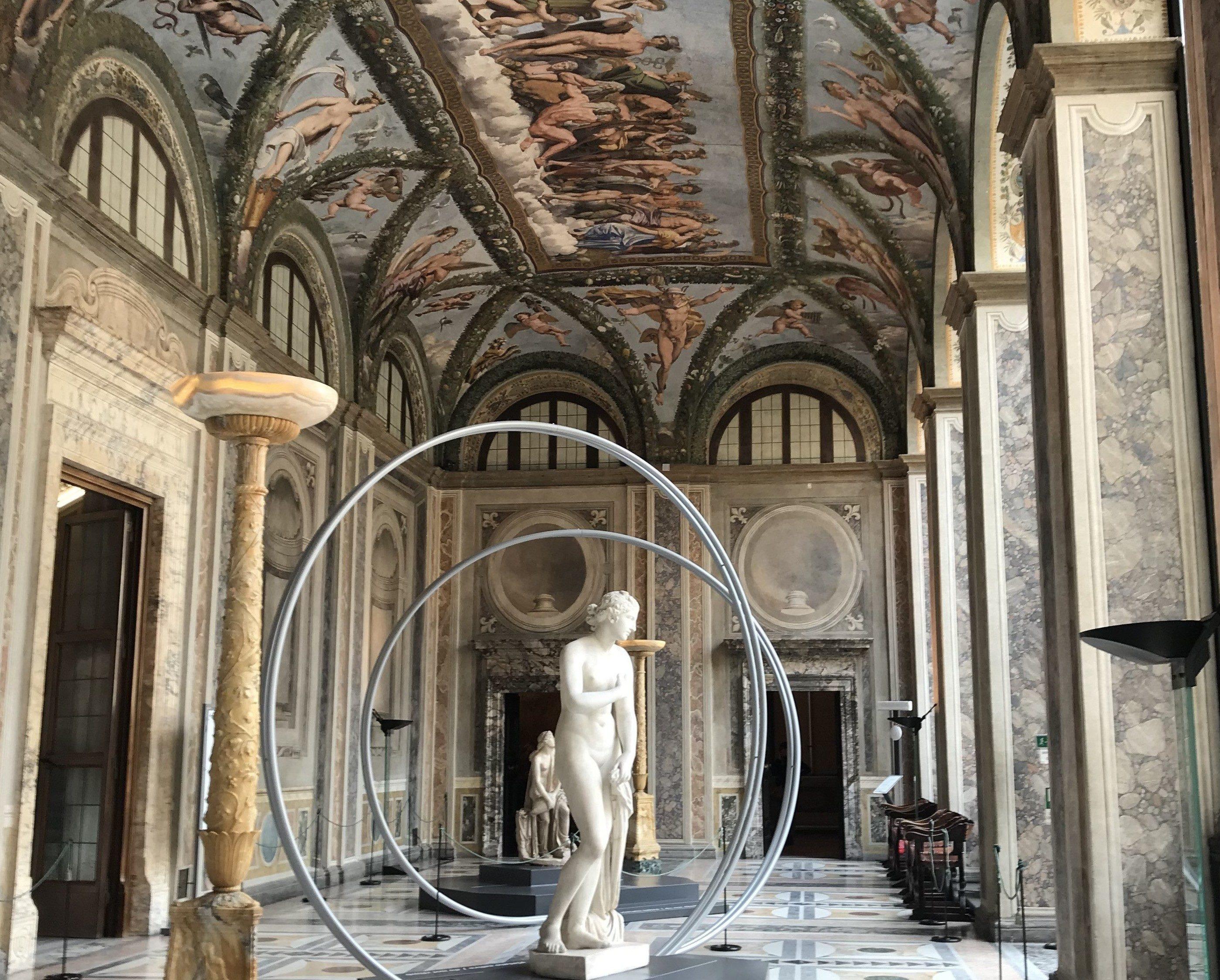 La loggia di Psiche - Art Club - Associazione culturale - Visite guidate a Roma - Raffaello Sanzio e Villa Farnesina