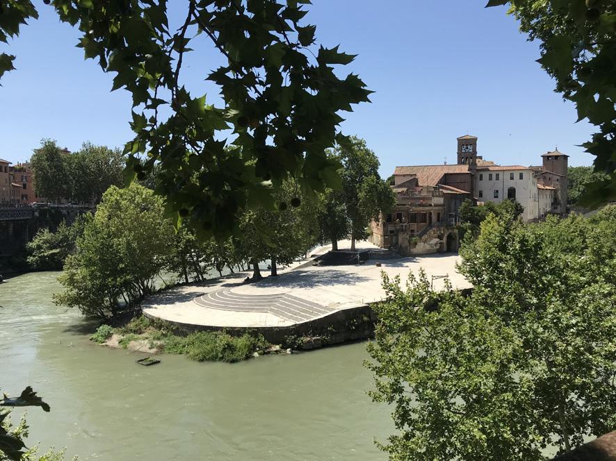 Isola Tiberina e Ghetto ebraico - Art Club - Associazione culturale - Visite guidate a Roma - Passeggiate culturali a Roma -