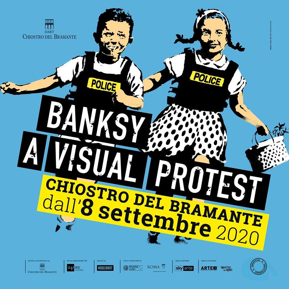 Banksy a visual protest - Art Club - Associazione culturale - Visite guidate a Roma -Art&Kids Roma - Art&Kids laboratori per bambini