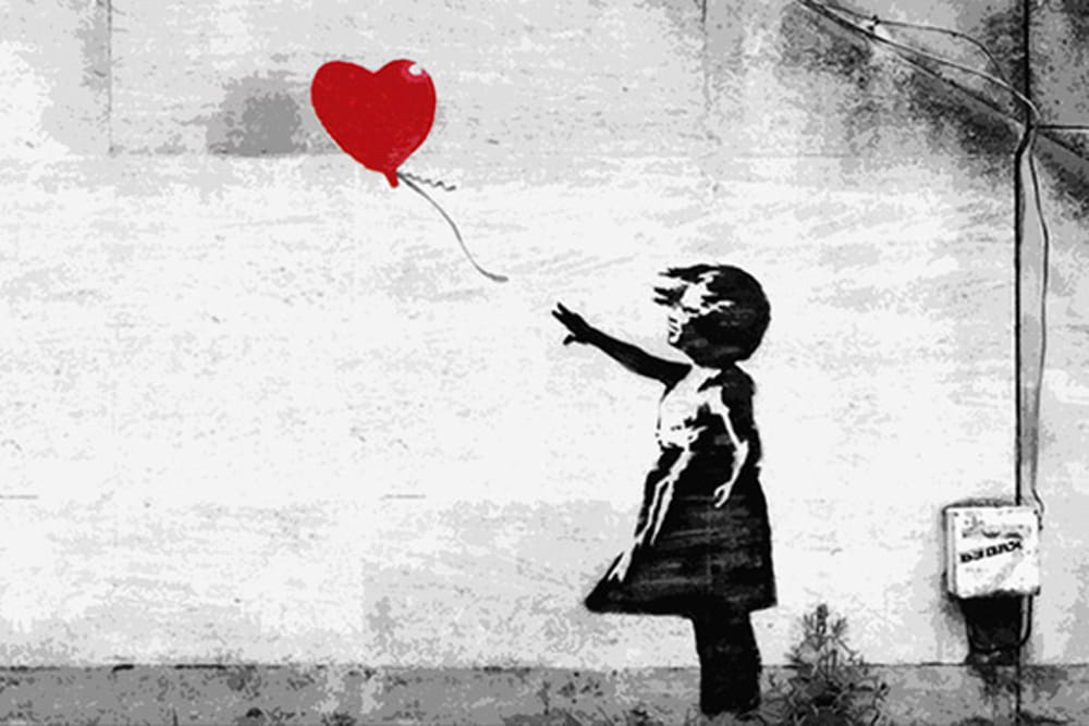 BANKSY, A VISUAL PROTEST KIDS