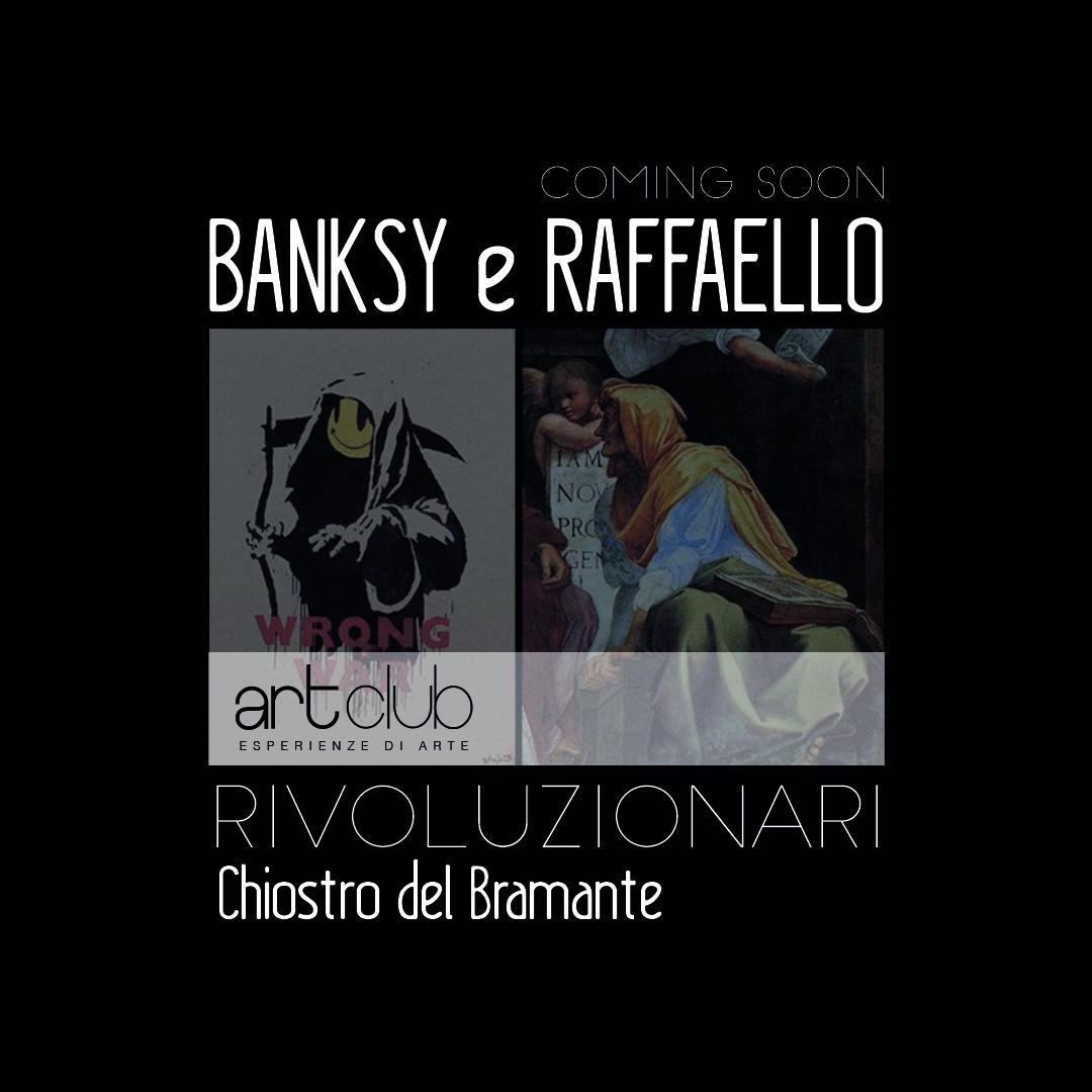Banksy e Raffaello - Banksy a visual protest - Art Club - Associazione culturale - Visite guidate a Roma - Visite guidate per bambini - art&kids - laboratori per bambini a Roma