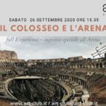 Il Colosseo e l'Arena - Art Club - Associazione culturale - Visite guidate a Roma -Art&Kids Roma - Art&Kids laboratori per bambini - Didattica per bambini