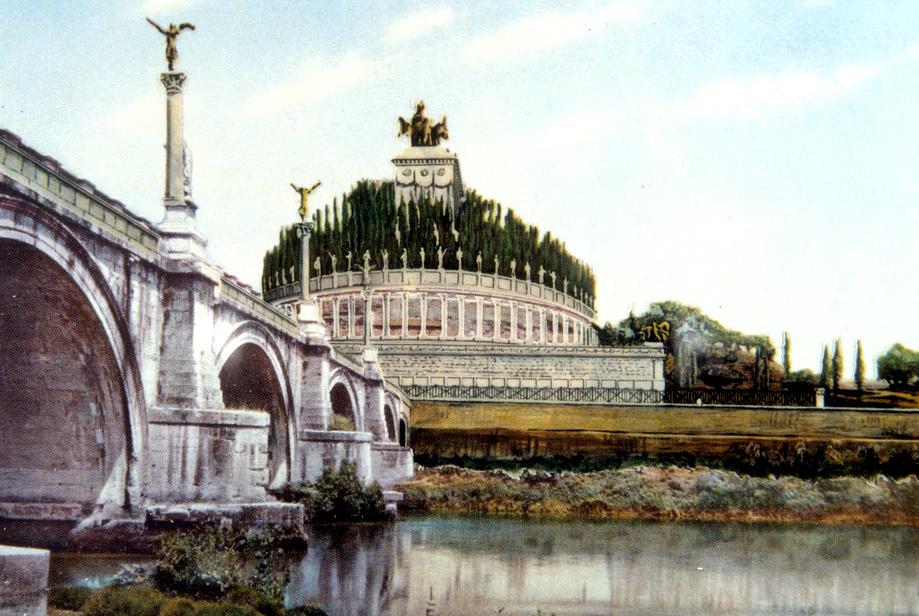 Il Mausoleo di Adriano - Castel Sant'Angelo - Art Club - Associazione culturale - Visite guidate - Visite a Roma - Viaggio a Roma - Viaggio in Italia - Esperienze d'Arte - KIDS