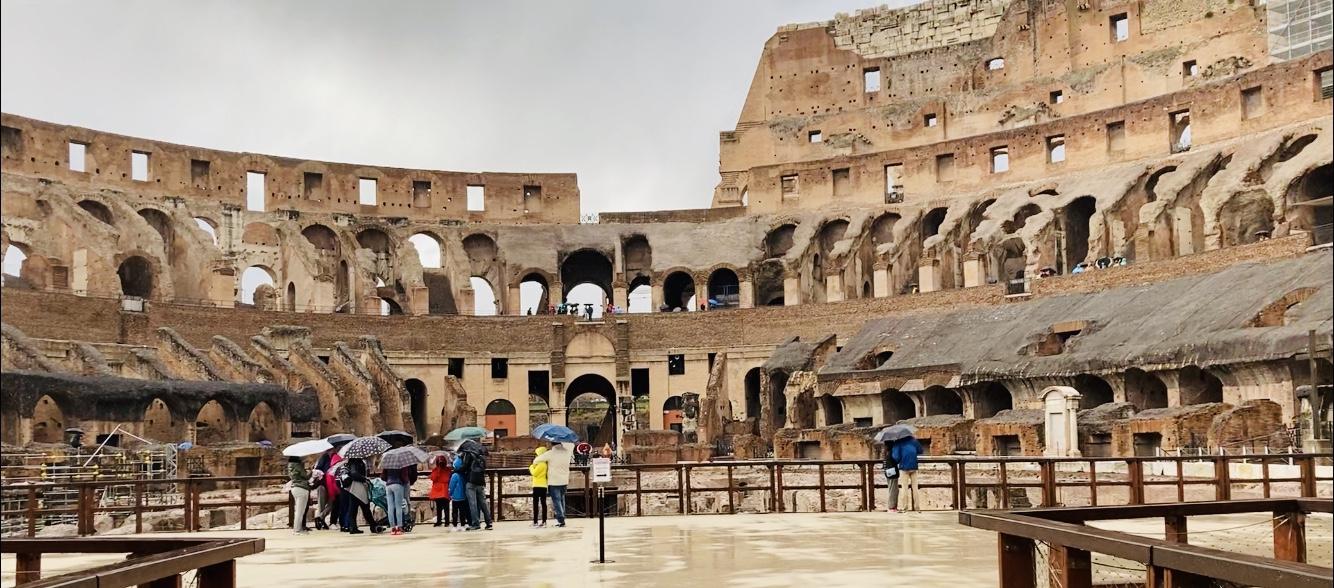 Il Colosseo e l'Arena - Art Club - Associazione culturale - Visite guidate a Roma - ingresso speciale - Esperienze d'arte - Sabato 6 Febbraio 2021 ore 12