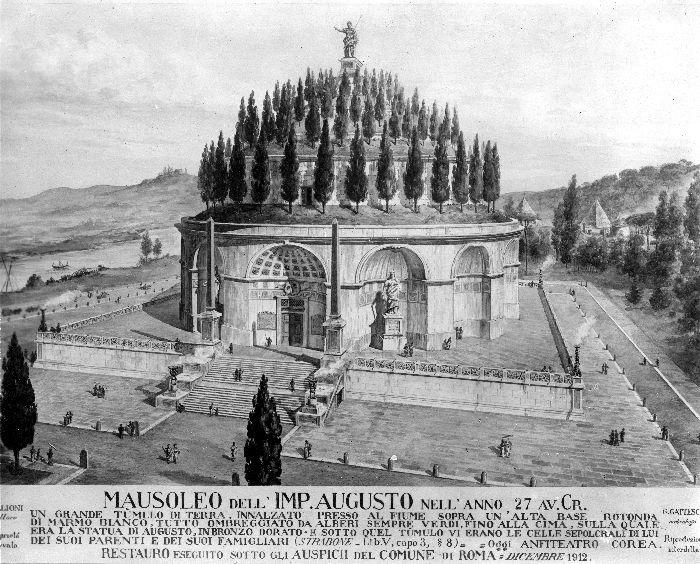 Mausoleo di Augusto - Art Club - Associazione culturale - Visite guidate a Roma - Esperienze d'Arte - Marzo 2021