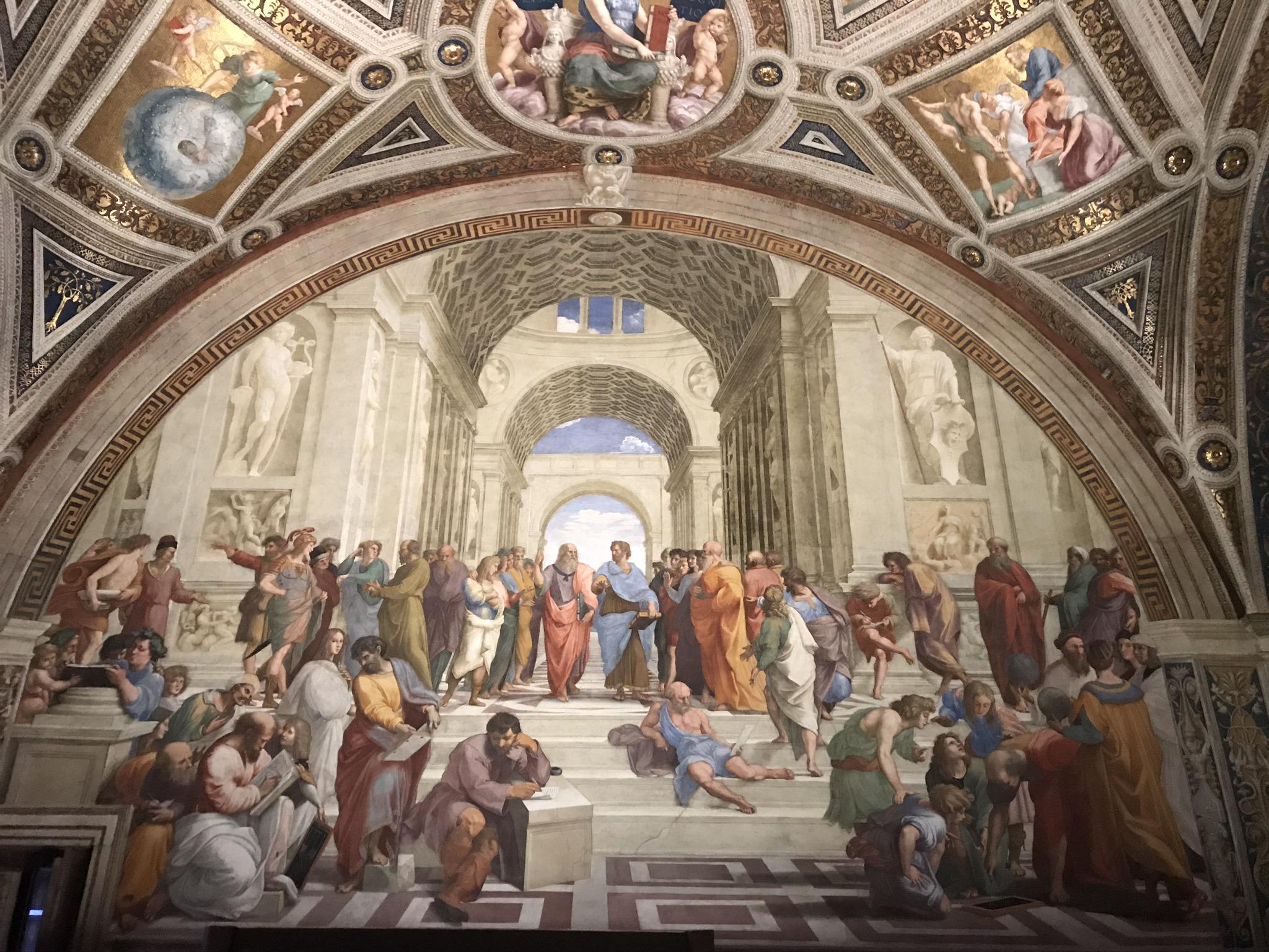 I Musei Vaticani - Art Club - Associazione culturale - Visite guidate a Roma Esperienze d'Arte - Gennaio 2021 - Scuola di Atene
