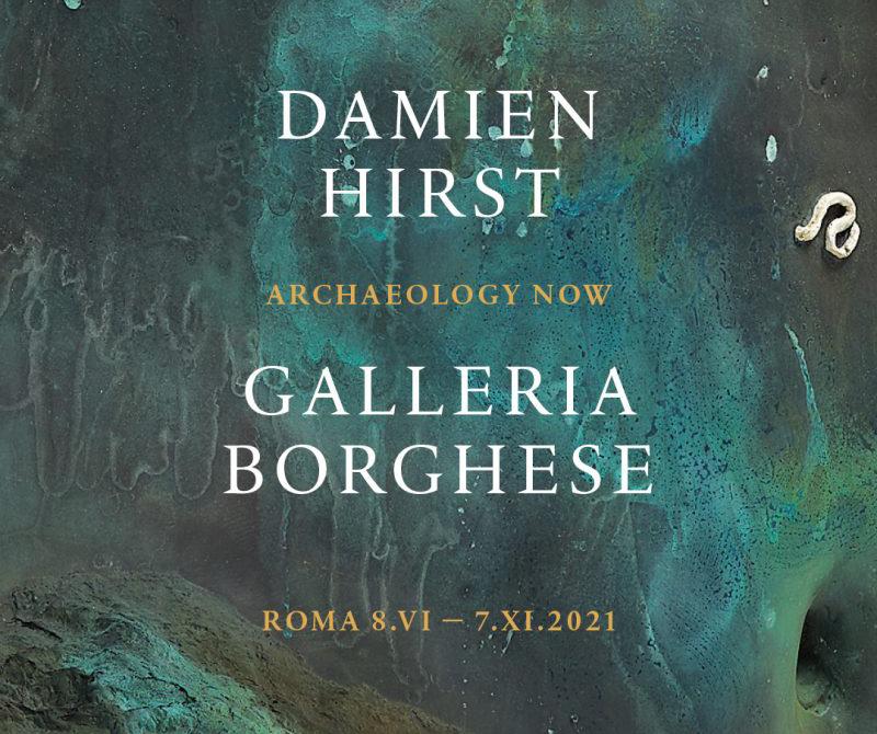 Archaeology Now - Damien Hirst - Galleria Borghese - Art Club - Associazione culturale - Visite guidate a Roma - Esperienze di Arte - Settembre - 2021