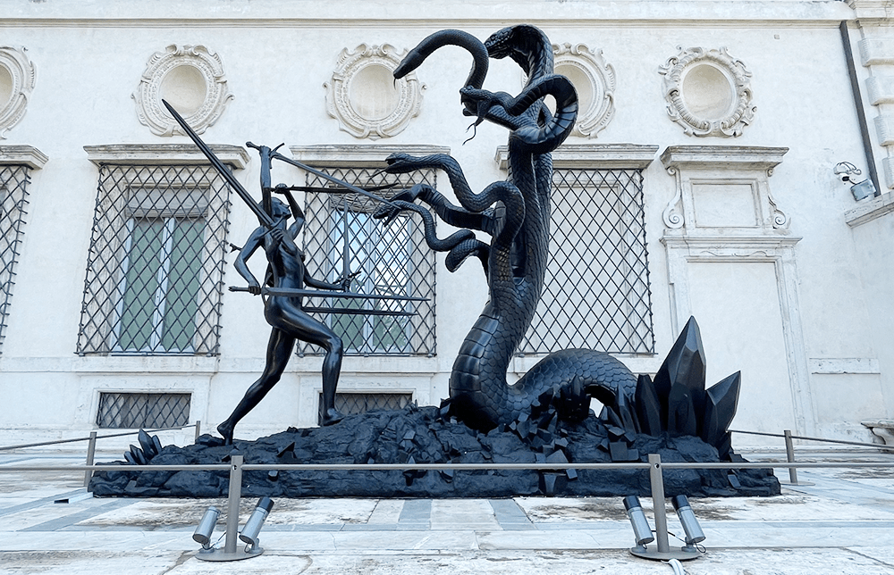 Archaeology Now, Damien Hirst  -  Galleria Borghese