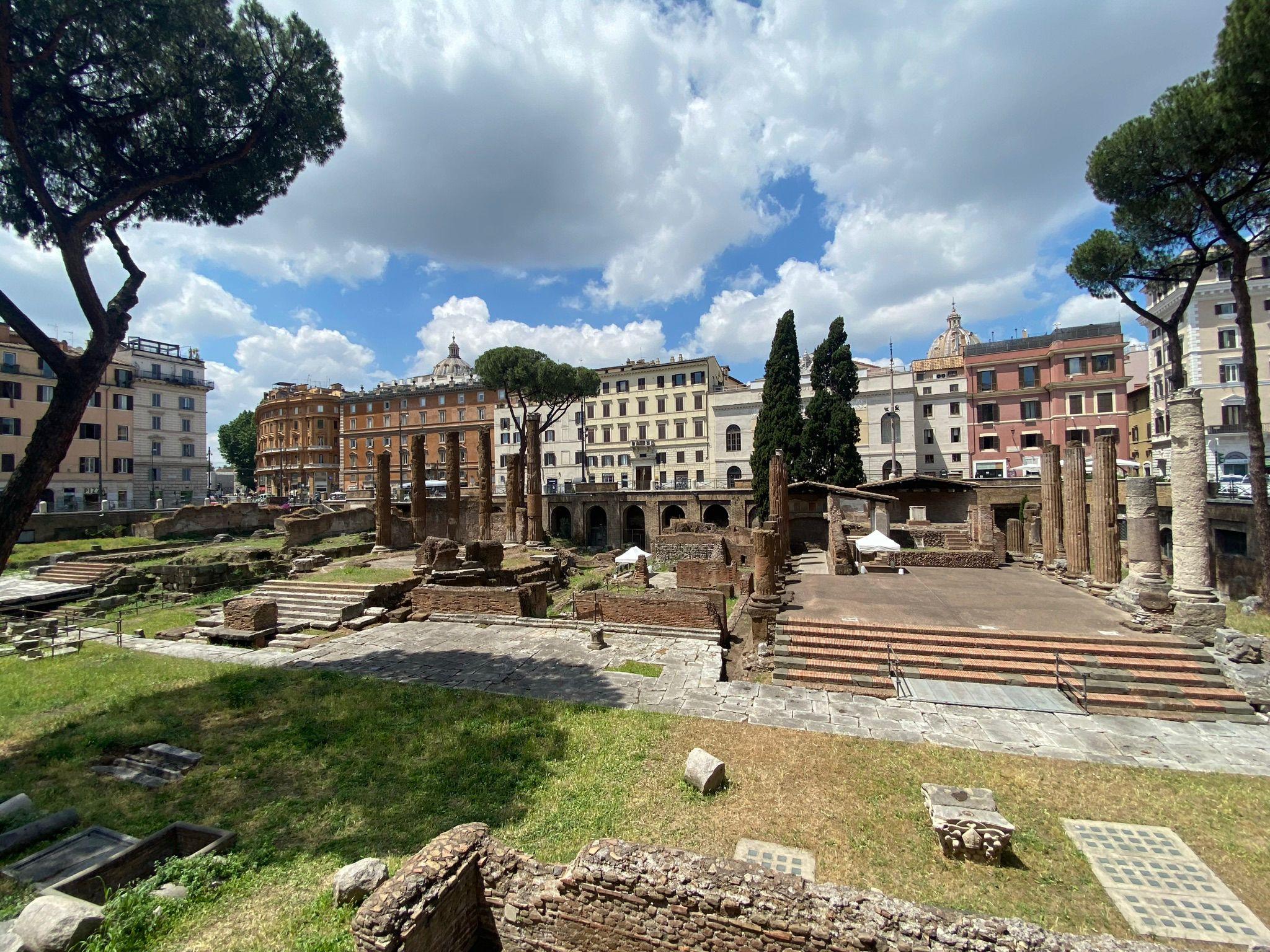 Templi Torre Argentina - Art Club - Associazione culturale - Visite guidate a Roma - Esperienze di Arte - Giugno - 2021
