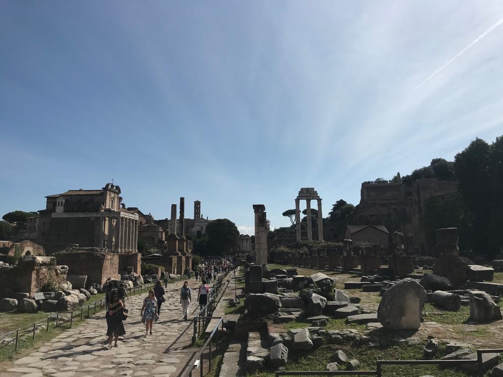 Foro romano - Art Club - Associazione culturale - Visite guidate a Roma - Esperienze di Arte - Ottobre - 2021