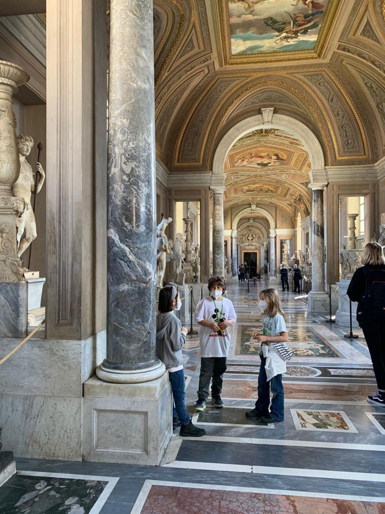 Musei Vaticani - KIDS - Art Club - Associazione culturale - Visite guidate a Roma - Esperienze di Arte - Ottobre - 2021