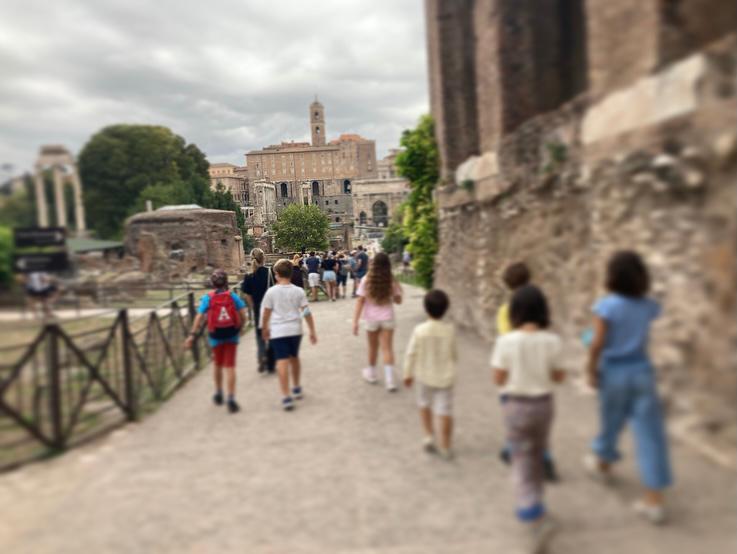 FORO ROMANO- - KIDS - Art Club - Associazione culturale - Visite guidate a Roma - Esperienze di Arte - settembre - 2021